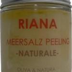 Dusch-Peeling mit Olivenöl & Salz vom toten Meer