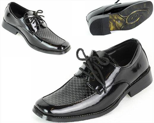 Jungen Kinder Schuhe Lack in schwarz 24-37