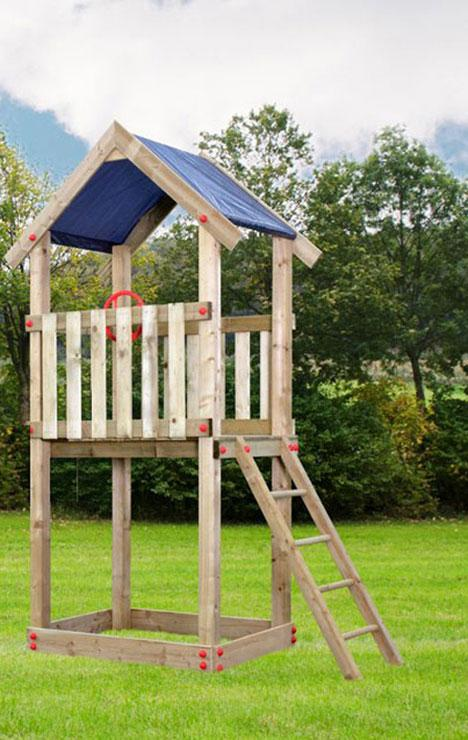 Spielturm Beauty Woodini Kinderspielturm