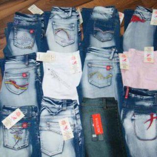 Crazy Bootcut Hosen Jeans Hose 028