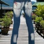 Restposten Crazy Bootcut Hosen Jeans Hose 028