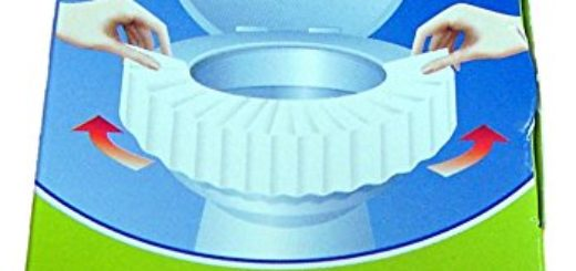 SITCLIN WC-Sitzschutzauflagen 4er Packung