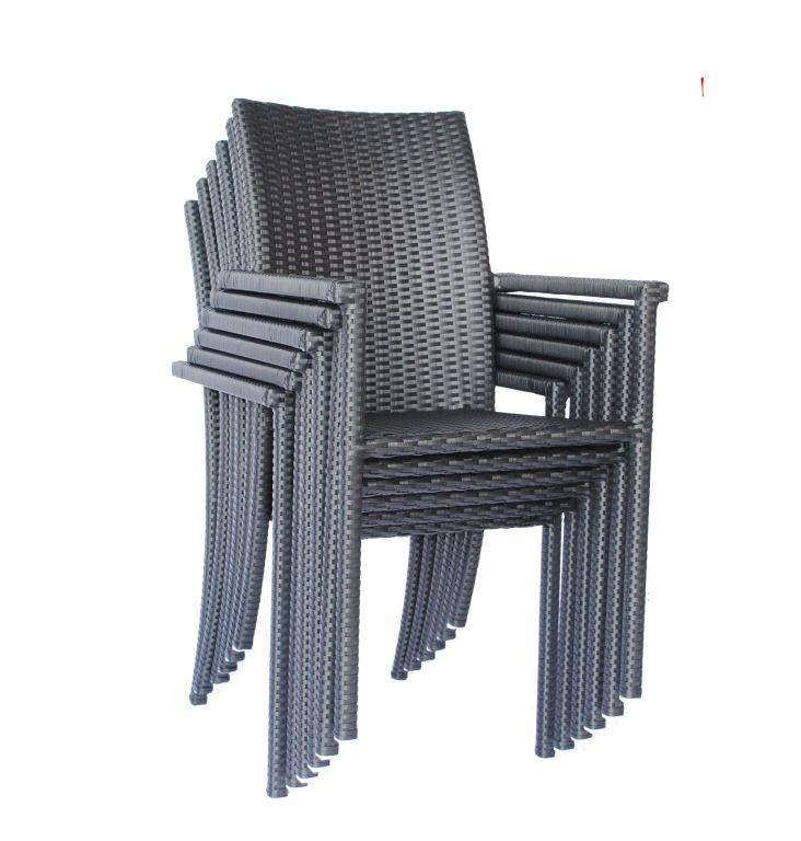 Gartenmöbel ONDO: Garnitur: Sessel+Puftisch