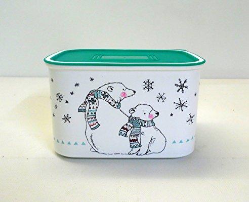 Weihnachten große Metall Dose Keksdose Eisbär