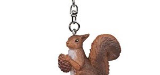 Schlüsselanhänger Eichhörnchen mit Strass