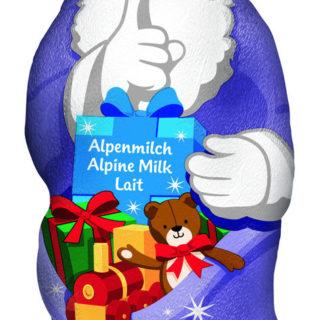 Milka Weihnachtsmann Alpenmilch Grosshandel Posten 25.000 Stück