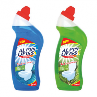 Grosshandel Alpinweiss WC Reiniger Fresh