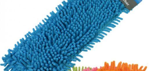 Bodenwischer Microfaser Chenille farbig 40x12cm