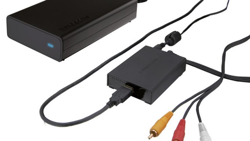 Freecom MediaPlayer XS / USB-Multimedia-Adapter