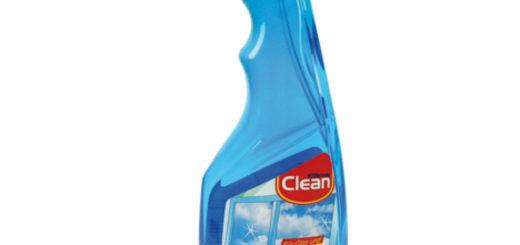 Glasreiniger Clean in Sprühflasche