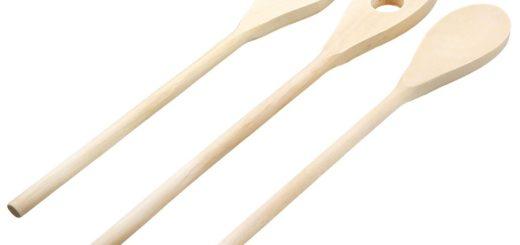 Holz Besteck Set - Kochlöffel Set aus Holz