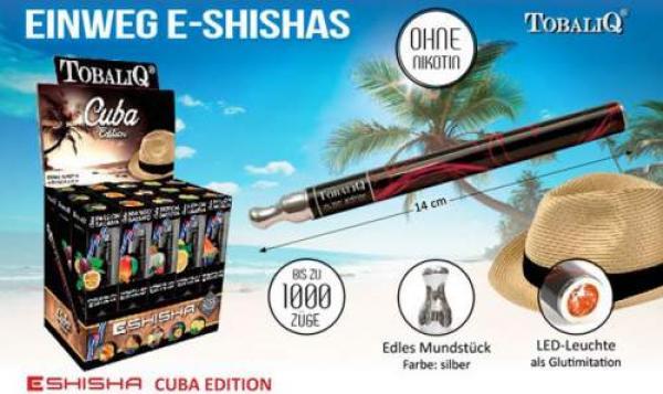 "E-Shisha ""CUBA""Edition Premium"