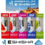 """E-Shisha """"ICE"""" Serie Premium Tobaliq ca.1000 puffs mit LED Glut"""