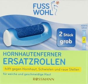 Fusswohl Hornhautentferner Ersatzrollen grob