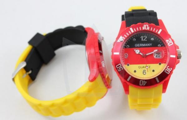 Germany Silikon Armbanduhr mit und ohne Datum
