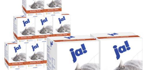 Großhändler für ja! Katzenfutter Nassfutter im Beutel verschiedene Sorten