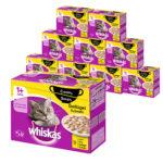Großhandel Whiskas 120er Mega-Multipack Katzenfutter - verschiedene Sorten