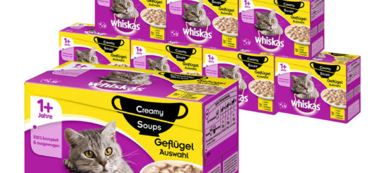 Whiskas 120er Mega-Multipack Katzenfutter - verschiedene Sorten