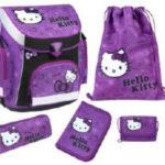 12-HKAZ825, Hello Kitty CAMPUS Plus Schulranzen Set, 5-teilig