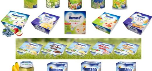 HUMANA BABY NAHRUNG BABY FOOD SONDERPOSTEN