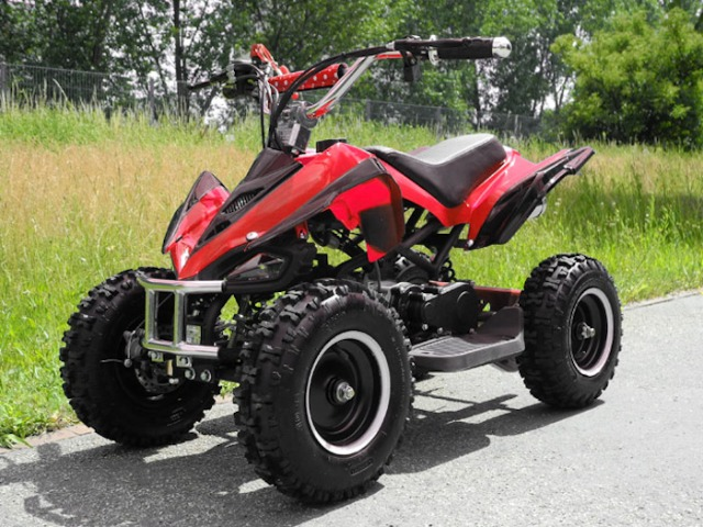 Mini Quad Pocket 49cc ATV Benzin E-Start Fernbedienung