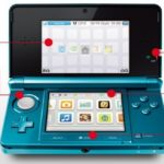 Nintendo 3DS - Konsole in Aqua blau Sonderposten