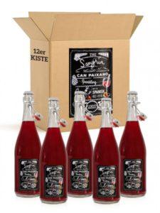 Sangria de Barcelona Can Paixano Kiste 12 Flaschen