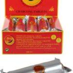 Shisha Kohle Belgian Instand 33mm 10er stange im 10er Display