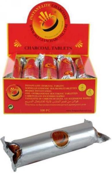 Shisha Kohle Belgian Instand 33mm