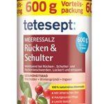 Tetesept Meeressalz Rücken & Schulter, 600 g Packung