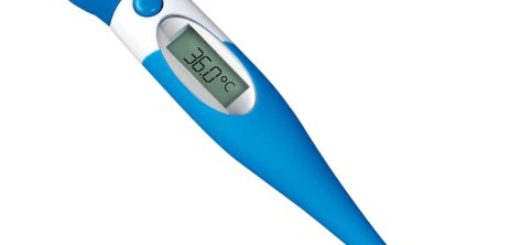 Toby Digital Thermometer 100, in blau