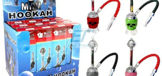 Wasserpfeife Mini Shisha SKULL ca. 21cm