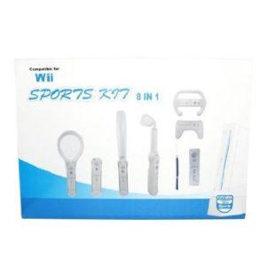 Nintendo Wii Set 8in1 für Nintendo Wii Sports Wii Mote