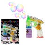 Seifenblasen Pistole mit LED Licht