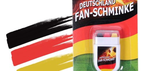 Schmink-Stift Fan-Schminke Make-Up WM EM Fußball-Schminke
