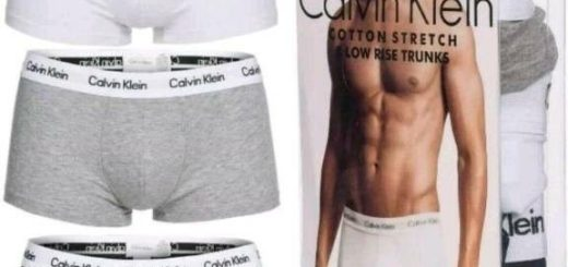 Calvin Klein Herren Boxershorts TRUNK, 3er Pack