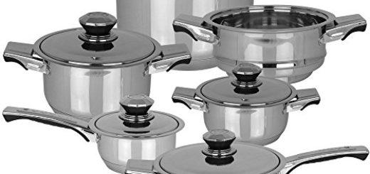Kochtöpfe Set mit 16 Elementen