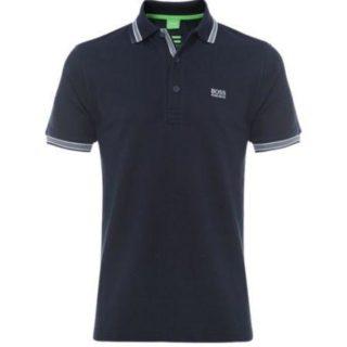 Hugo Boss Polo Shirts schwarz/weiß/dunkelblau
