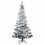 Tannenbaum 150 cm, mit Schnee bedeckt