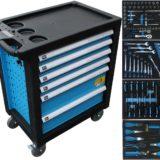 Werkzeugschrank rollbar Werkstattwagen befüllt