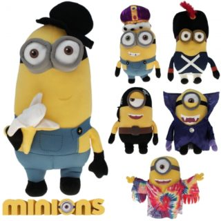 Minions Movie-Mix 39 cm, Plüschfiguren
