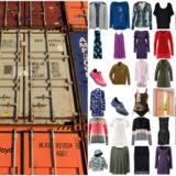 Palettenware LKW Container Bekleidung Textilien Schuhe