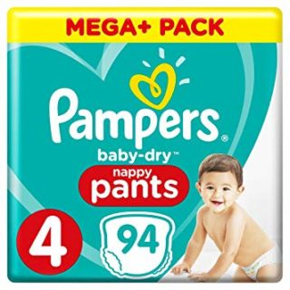 Pampers Baby Dry Pants Maxi Mega Pack