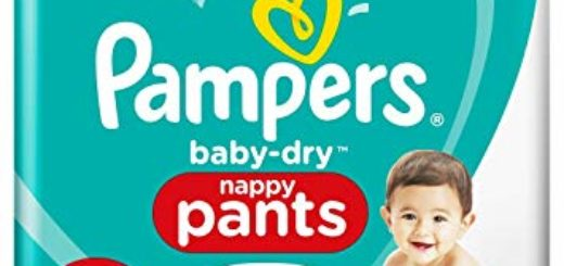 Pampers Baby-Dry Pants Maxi Mega Pack