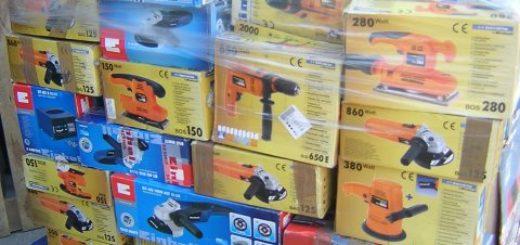 Sonderposten Elektrowerkzeug Kundenrückläufer B/C Mix Ware