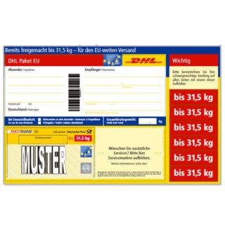 DHL Paketmarken bis 31,5 KG Versandkosten sparen!!!