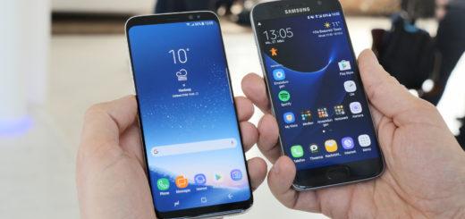 Samsung-Telefone S7, S8 + und Note 4