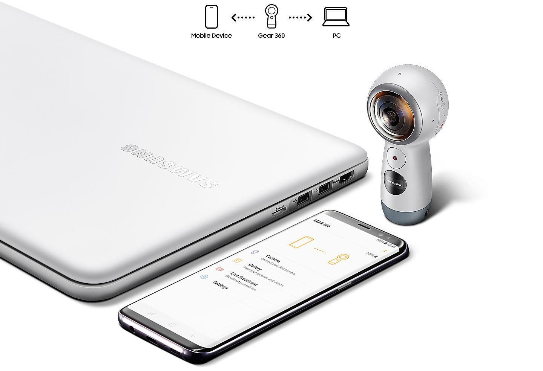 Samsung Gear 360 - 2017 white