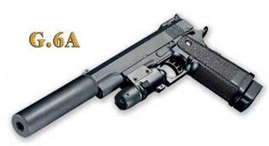 Federdruck Softair Pistole G6A