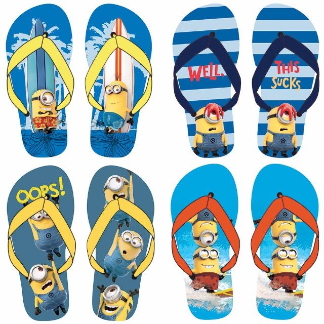 Flip Flops 4-fach sortiert Größe 27-34